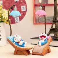 创意学生礼品叮当躺椅休闲小夜灯树脂摆件装饰工艺品活动纪念奖品