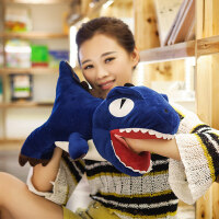 卡通恐龙暖手抱枕插手公仔毛绒沙发可爱靠垫韩式暖手捂学生 女生T