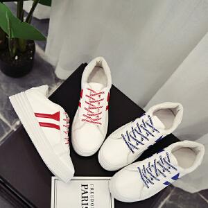 夏季韩版小白鞋女2018新款百搭透气街拍帆布鞋学生女鞋休闲白鞋子
