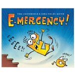 E-mergency!字母E 英文儿童绘本 启蒙认知读物