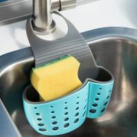 【满减】欧润哲 厨房进阶双色厚身水槽篮洗碗刷套装 水龙头沥水篮百洁布钢丝刷收纳篮