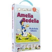 I Can Read - Amelia Bedelia Hit the Books 糊涂女佣 5册盒装 分级读物 Lev
