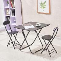 折叠桌餐桌家用户外简易便携式小方桌简约吃饭折迭桌两用阳台实木T