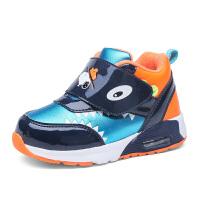 史努比童鞋棉鞋秋冬新款男童运动鞋儿童棉鞋加毛保暖卡通宝宝鞋
