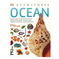 【首页抢券300-100】DK Eyewitness Ocean 目击者系列 海洋世界 DK出版社 少年科普读物 全彩大