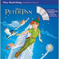 彼得潘 书+CD 有声读物 英文原版 Peter Pan Read-Along Storybook and CD