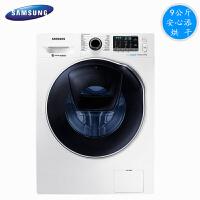 三星(SAMSUNG)WD90K5410OW 9kg变频滚筒洗烘一体安心添滚筒洗衣机 白色