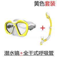2018新品潜水运动专项全干式呼吸管面镜套装男女通用款潜水镜装备