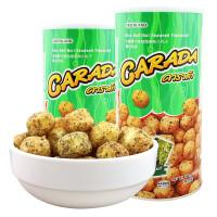 【满99减50元】泰国进口吉隆牌卡啦哒海苔味小丸子(膨化食品)90g