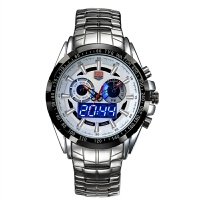 特种兵手表男军表美国夜光防水大表盘潮流户外运动多功能石英腕表SN0204
