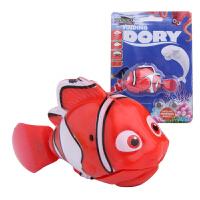 宝宝洗澡玩具海底总动员2尼莫电动鱼小丑鱼会游泳戏水感应鱼玩具 提示:小丑鱼7.5cm 多利8.8cm