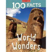 100 Facts World Wonders 世界奇观100个事实 百科科普 儿童英语科普读物 英文原版进口图书