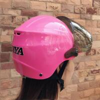 电动摩托车头盔防紫外线电车帽子四季通用头盔女夏季防晒轻便式