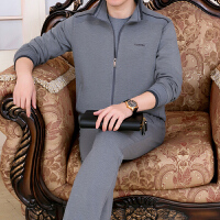 中老年运动套装男春秋季长袖卫衣中年运动衣服父亲爸爸装三件套冬 3