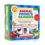 学乐 动物语言家长阅读手册 英文原版 Animal Phonics Readers Parent Pack 幼儿童启蒙