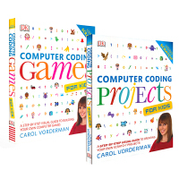 DK英文原版 Computer Coding Projects and Games 编程真好玩 项目游戏编程 英国中小