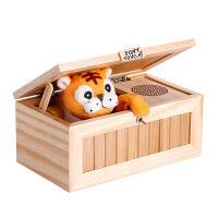 魔性小老虎无聊的盒子猫创意发泄玩具送女友神器