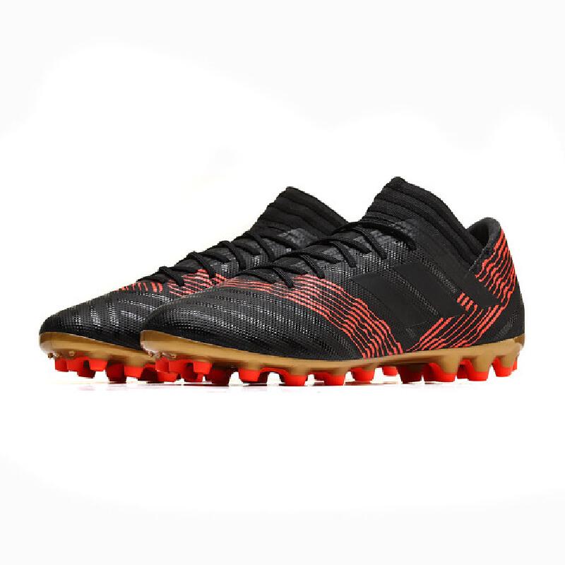 adidas足球鞋 adidas阿迪达斯男鞋足球鞋2018年新款梅西AG胶质短钉运动鞋