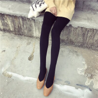 春装新款秋冬款加绒丝袜冬季保暖踩脚打底裤袜连体连脚袜