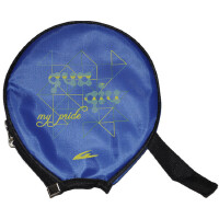 GUOQIU 国球 乒乓球拍套拍包 小圆形拍套 葫芦形半套 乒乓球运动包