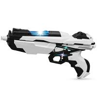 玩具枪大号圣冰闪烁灯光可发射新年礼物儿童手动软弹枪