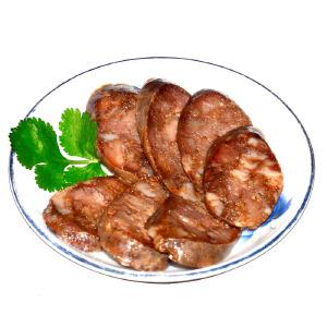 【山东特产】烟台香肠纯肘肉五香口味腊肠风干肠400g农家土猪肉自制(4-7根)土特产包邮 买二送一