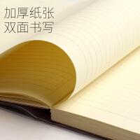 得力笔记本文具学生记事本子创意加厚日记本