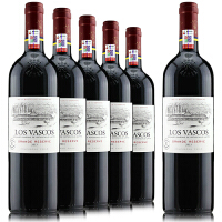 拉菲巴斯克珍酿红葡萄酒 智利拉菲华诗歌红酒 原瓶原装进口红酒 750ml*6整箱