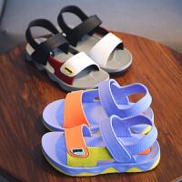 童鞋儿童凉鞋女童2019夏季新款露趾运动沙滩凉鞋潮