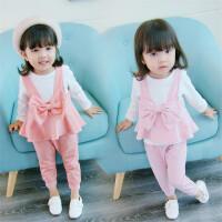 童装女童秋装套装儿童衣服0一1-2-3周岁女宝宝三件套春秋