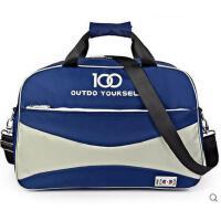 新款百搭单肩包手提大容量行李包时尚男单肩包男短途旅游收纳包女支持礼品卡支付