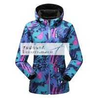 20180412061233300迷彩冲锋衣男女春秋薄款软壳衣防风防水透气单层运动风衣外套西藏