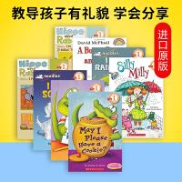Scholastic Reader Level 1 学乐英语分级阅读读物第一级8册 英文原版 儿童启蒙绘本 我可以吃块饼