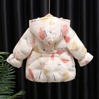 女宝宝棉衣外套洋气冬季羽绒棉袄