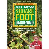【预订】All New Square Foot Gardening The Revolutionary Way to