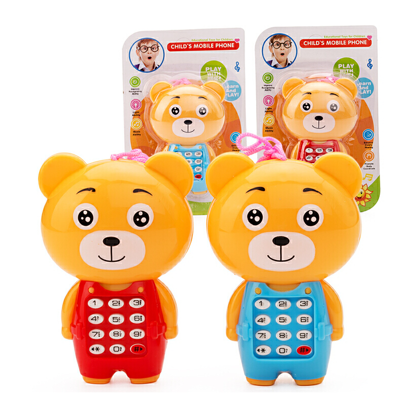宝宝玩具1-3岁音乐小熊玩具小礼物