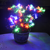 led光纤花灯满天星节日喜庆布置彩灯闪灯串灯圣诞树装饰灯
