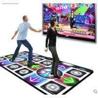 防滑弹力耐磨精致LED灯发光加厚双人跳舞毯跳舞机高清电脑电视两用