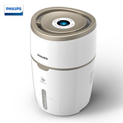 飞利浦(PHILIPS) 上加水加湿器 自动湿度设置 纳米无雾恒湿 静音卧室办公室家用加湿 HU4816/00 上水方便,360°方位加湿,静音,安心睡眠