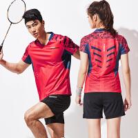 羽毛球服套�b男女 短袖�\�臃��W球排球乒乓球衣���服 XXX