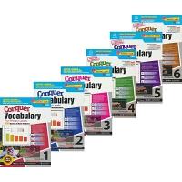 SAP Conquer Vocabulary 1-6年级攻克系列词汇6册练习册套装 7-12岁 新加坡新亚出版社教辅