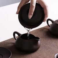 紫砂功夫茶具套装家用陶瓷办公泡茶整套茶壶茶杯礼品盖碗