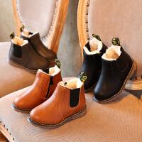 新款保暖儿童雪地靴女童靴子 冬季童短靴宝宝马丁靴潮
