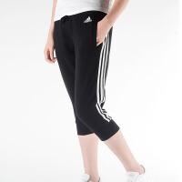 adidas阿迪达斯2018新款夏季女子跑步运动休闲七分裤针织中裤CF8841
