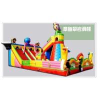 充气城堡室外大型儿童淘气堡乐园攀岩滑梯蹦蹦床气垫床跳跳床游乐园 章鱼攀岩滑梯