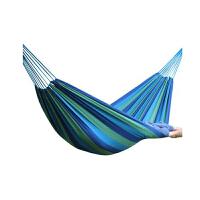 户外休闲吊床加宽加厚帆布双人吊床室内公园野营成人户外装备