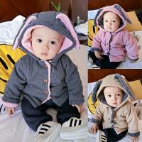 201805050820235婴儿衣服秋装女童外套装1岁3男宝宝加厚保暖秋冬装