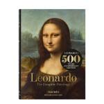 【现货正版包邮】TASCHEN 原版进口 Leonardo Da Vinci 达芬奇油画绘画画册画集收藏 正版图书 精