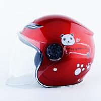 诺曼 特价精品儿童头盔摩托车电动车半盔 小孩头盔 男孩女孩通用四季头盔 多色可选