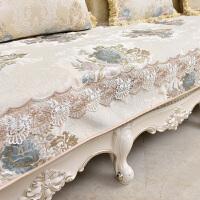 欧式沙发垫奢华高档布艺防滑皮沙发套沙发罩全盖四季通用客厅坐垫 蕾丝